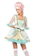 WOMEN'S DELUXE MARIE ANTOINETTE COSTUME SIZE LARGE (with defect)