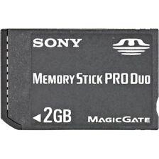 SONY MEMORY STICK PRO DUO 2GB MAGIC GATE -OEM -