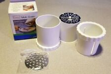 Easy Cheese Vegetable Grater Multi-Grater Nuts Chocolate Purées Cooked