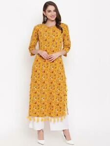 New Women Nepra Long Dress with Pom Pom style Bright Color