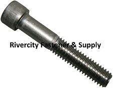(5) M5-0.8x40mm OR M5X40 mm Socket / Allen Head Cap Screw Stainless Steel