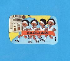 PANINI CALCIATORI 1975-76-Figurina n.340- CAGLIARI - sagomata -Recuperata