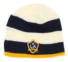 Adidas Unixes Adult LA Galaxy MLS Team Cuffless Knit Hat