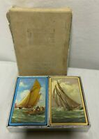 Vintage 2 Decks Congress Playing Cards Ships