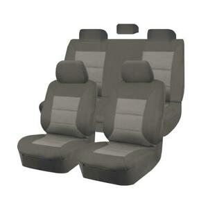 Premium Car Seat Covers For Toyota Hilux 2005-2015 Dual Cab | Grey