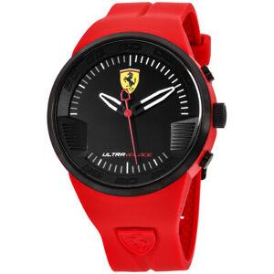 Ferrari Ultraveloce Quartz Movement Black Dial Men's Watch 830374