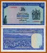 Rhodesia, 1 dollar, 2-8-1979, Pick 38, UNC