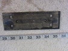 "Zinsco 6½""x2"" Panel Filler Plate, Used"