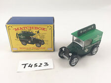 RARE MATCHBOX YESTERYEAR Y65 Austin 7 Van YESTERYEAR Book Two-Tone Green Diecast