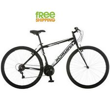 Multi Use Schwinn Bike Men 700c Sport  Road City Bicycle 18 Speed Shimano Black