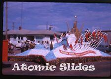 1963 Kodachrome photo slide Parade Saskatchewan Canada #5 Squaw Rapids Hydro
