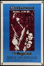 THE BEGUILED original film / movie poster - Clint Eastwood