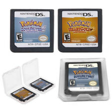 2Pcs Pokemon HeartGold SoulSilver Game Card For Nintendo 3DS NDSI NDSLL NDS Lite