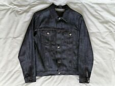 Naked & Famous Denim Jacket Cameroon Cotton Selvedge - Small