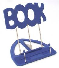 The 'BOOK' Stand Book Holder Blue