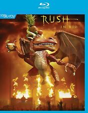 RUSH - IN RIO  BLU-RAY NEW+
