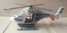 Playmobil 6874 Polizei Hubschrauber mit LED Suchscheinwerfer - gebraucht -