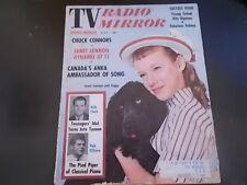 Lennon Sisters, Paul Anka, Neil Sedaka -TV Radio Mirror Magazine 1959