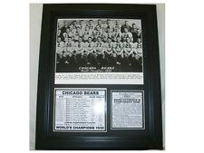1932 CHICAGO BEARS WORLD CHAMPS CHAMPIONSHIP TEAM 8X10 PHOTO FRAMED RED GRANGE