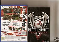 MORTAL KOMBAT DEADLY ALLIANCE PLAYSTATION 2 PS2 PS 2 RATED 18