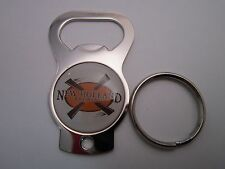 Key Chain Metal Bottle Opener ~ NEW HOLLAND Brewing Company Michigan; Since 1997