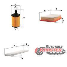 Set M: Ölfilter+Luftfilter+Innenraumfilter Filterset FORD SEAT VW