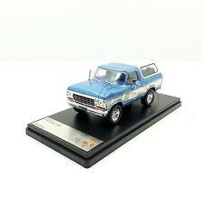 1/43COCHE CAR FORD BRONCO AZUL METÁLICO 1978 IXO PREMIUM