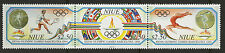 Niue  1992   Scott #   624     Mint Never Hinged Strip