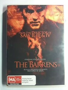 The Barrens (DVD, 2013) Psychological Horror from the Director of Saw