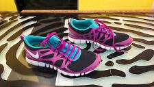 NIKE FREE HYPERFEEL Womens Trail Running Shoes Coralnavysilver Sz 8.5