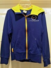 NIKE DRI FIT LiveStrong Lance Armstrong RETRO BICYCLE Womens Jacket Coat Sz M ~