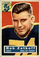 1956 Topps #67 Roger Zatkoff - EX