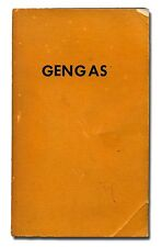 Gengas: The Swedish Classic on Wood Fueled Vehicles PB 1982  W2
