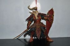"World of Warcraft Blood Elf Paladin QUIN'THALAN Sunfire 8"" Figure PVC STATUE"