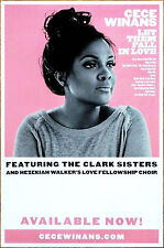 CECE WINANS Let Them Fall In Love 2017 Ltd Ed RARE Poster +FREE Soul R&B Poster!