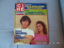 CINE REVUE N°30 26/7/1984 B.GIRAUDEAU V.KAPRISKY DORA DOLL G.COOPER BOURVIL  G93
