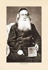 K&K Photo 57 Rabbiner REBBE RAV RABBUNI JUDENTUM GELEHRTE RABBI TALMUD TORAH