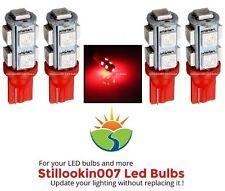 4 - Landscape LED bulbs, RED 9LED T5 Path, Garden & Landscape Lighting