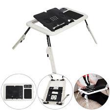 Laptop Table Stand Folding Desk Bed Computer Study Adjustable Portables Sofa UK