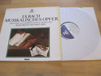 LP J.S. Bach Musikalisches Opfer BWV 1079 Paillard Vinyl ERATO RCA ZL 30535
