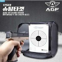 BB Gun Target Holder Net Backed Catcher Shooting Airsoft Paper Folding_0C
