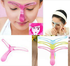 Professional Eyebrow Shaper Template Stencil Shaping Brow Grooming Makeup Tool x