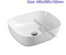 Bathroom Ceramic Gloss white Basin Vanity Above counter top sink bowl