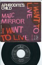 Rock Psych Aphrodite's Child MERCURY MCF 132505 Magic mirror / I want to live ♫