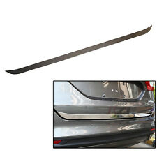 Fit For Ford Fusion Mondeo 13-18 Chrome Rear Trunk Back Door Edge Cover Trim Lid