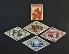 nystamps Russia Tannu Tuva Stamp Mint Imperfs