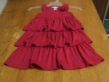 """Janie and Jack """"Simply Red"""" Pretty Poppies Knit Dress-Sz. 5"""