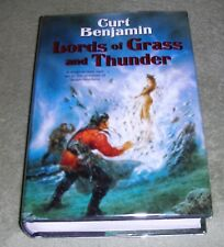 LORDS OF GRASS & THUNDER Curt Benjamin 2005 HC/DJ ~ 1st Ed 1st Printing + Cover