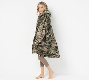 The Comfy Original Oversized Blanket Sweatshirt / Camo                       BC2