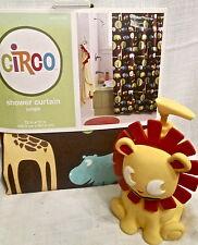 Circo Jungle Shower Curtain 2pc Set Lion Lotion/Soap Pump Dispenser NEW